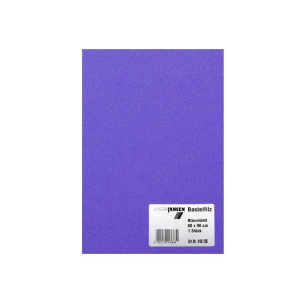 Филц занаятчийски 0,8-1 mm, 100% вискоза Филц занаятчийски 0,8-1 mm, 100% вискоза, синьо-виолетов
