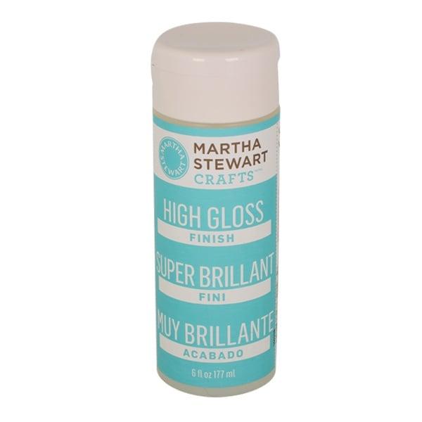 Алуминиево фолио, 20 х 30 см / 0,15 мм, 3 бр., двуцветно - червено и сребристо Финишен лак Martha Stewart, гланц, 177 ml