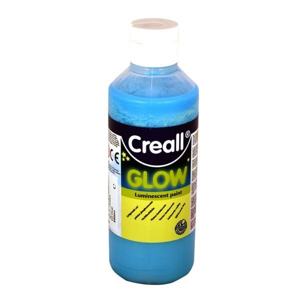 Фосфорисцентна боя CREALL GLOW, 250 ml Фосфорисцентна боя CREALL GLOW, 250 ml, синя