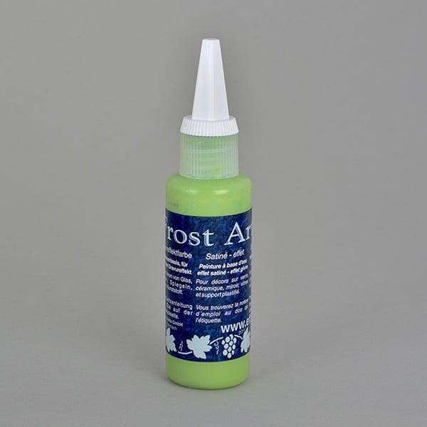 Frost Art, сатенени бои със заскрежен ефект, 50 ml Frost Art, сатенена боя, заскрежен ефект, 50 ml, майскозелена