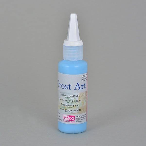 Frost Art, сатенени бои със заскрежен ефект, 50 ml Frost Art, сатенена боя, заскрежен ефект, 50 ml, синя