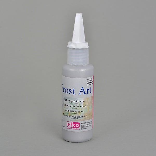 Frost Art, сатенени бои със заскрежен ефект, 50 ml Frost Art, сатенена боя, заскрежен ефект, 50 ml, сребърна