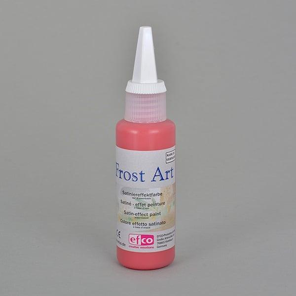Frost Art, сатенени бои със заскрежен ефект, 50 ml Frost Art, сатенена боя, заскрежен ефект, 50 ml,  тъмно червена
