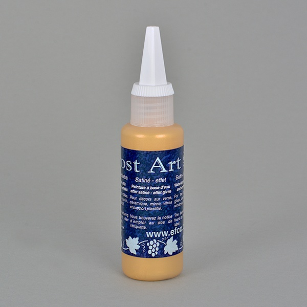 Frost Art, сатенени бои със заскрежен ефект, 50 ml Frost Art, сатенена боя, заскрежен ефект, 50 ml, златна