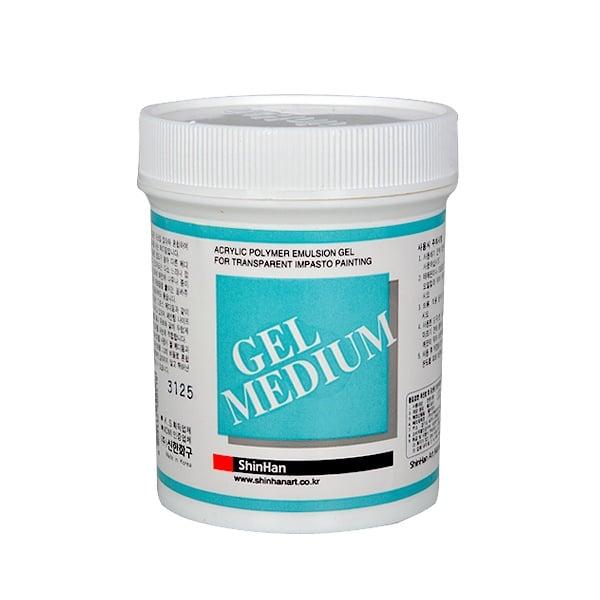Гел / Гланц / Мат медиум за акрилни бои, 240 ml Гел медиум за акрилни бои, 240 ml