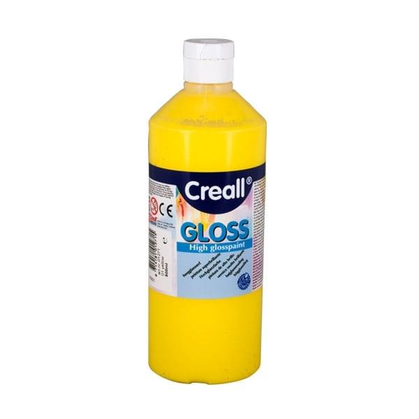 Гланцови бои CREALL Gloss, 500 ml Гланцова боя CREALL Gloss, 500 ml, жълта