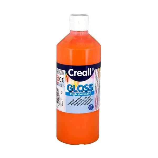 Гланцови бои CREALL Gloss, 500 ml Гланцова боя CREALL Gloss, 500 ml, оранжева