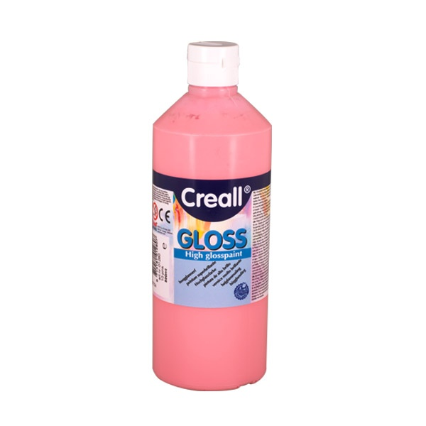 Гланцови бои CREALL Gloss, 500 ml Гланцова боя CREALL Gloss, 500 ml, розова