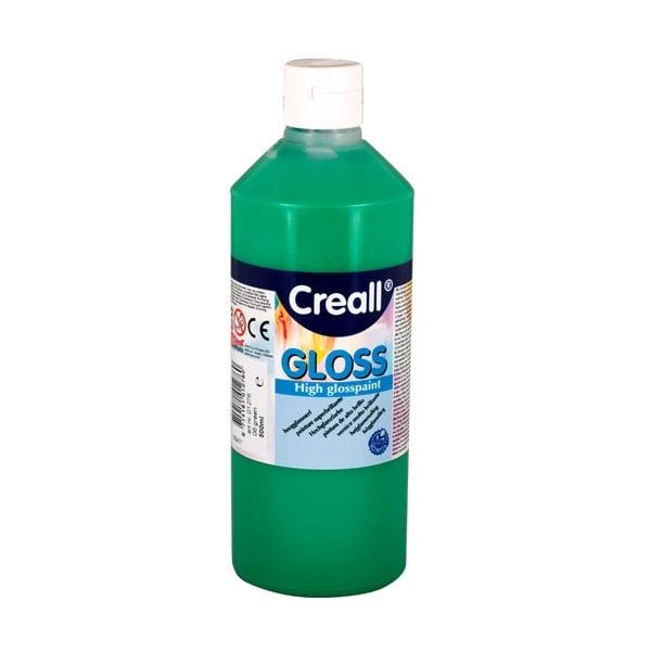 Гланцови бои CREALL Gloss, 500 ml Гланцова боя CREALL Gloss, 500 ml, зелена