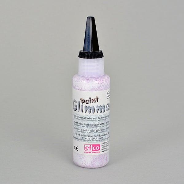 Glimmerpaint, бои с блясък ефект, 50 ml Glimmerpaint, боя с блясък ефект, 50 ml, розова
