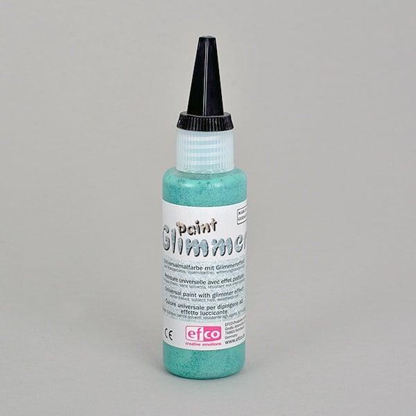 Glimmerpaint, бои с блясък ефект, 50 ml Glimmerpaint, боя с блясък ефект, 50 ml, зелена