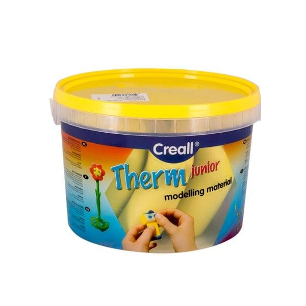 Глина за моделиране CREALL Term, 2000g Глина за моделиране CREALL Term, 2000g, жълта