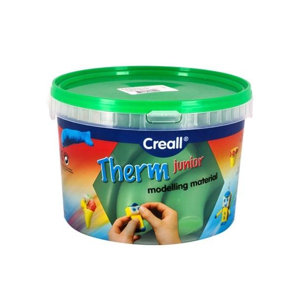 Глина за моделиране CREALL Term, 2000g Глина за моделиране CREALL Term, 2000g, зелена