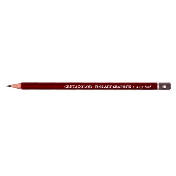 Графитен молив CretaColor, CLEOS FineArtGraphite, 1 бр., от 9B до 9H Графитен молив CretaColor, CLEOS FineArtGraphite, 1 бр., 2B