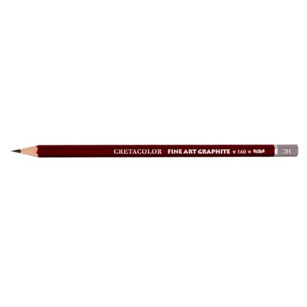 Графитен молив CretaColor, CLEOS FineArtGraphite, 1 бр., от 9B до 9H Графитен молив CretaColor, CLEOS FineArtGraphite, 1 бр., 2H