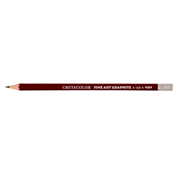 Графитен молив CretaColor, CLEOS FineArtGraphite, 1 бр., от 9B до 9H Графитен молив CretaColor, CLEOS FineArtGraphite, 1 бр., 4H