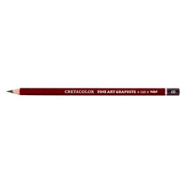 Графитен молив CretaColor, CLEOS FineArtGraphite, 1 бр., от 9B до 9H Графитен молив CretaColor, CLEOS FineArtGraphite, 1 бр., 6B