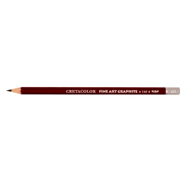 Графитен молив CretaColor, CLEOS FineArtGraphite, 1 бр., от 9B до 9H Графитен молив CretaColor, CLEOS FineArtGraphite, 1 бр., 6H