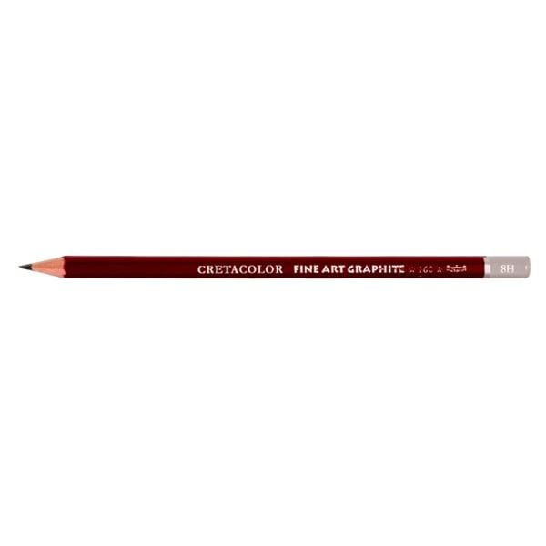 Графитен молив CretaColor, CLEOS FineArtGraphite, 1 бр., от 9B до 9H Графитен молив CretaColor, CLEOS FineArtGraphite, 1 бр., 8H