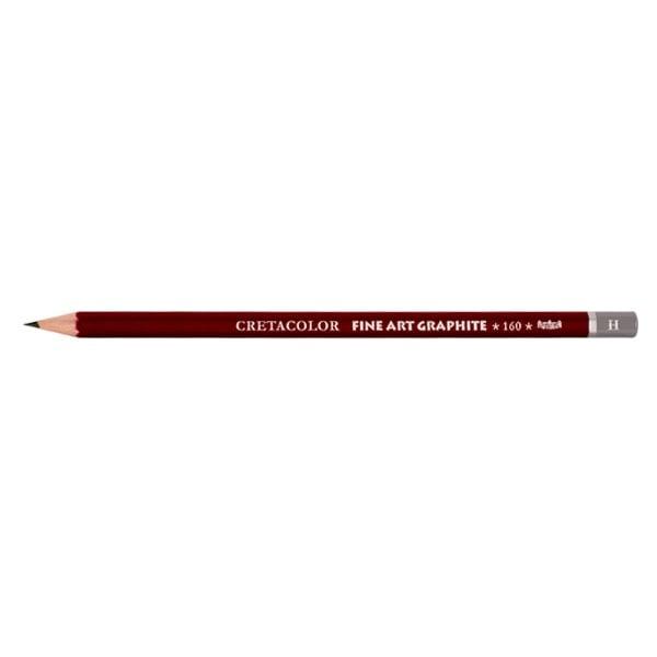 Графитен молив CretaColor, CLEOS FineArtGraphite, 1 бр., от 9B до 9H Графитен молив CretaColor, CLEOS FineArtGraphite, 1 бр., H