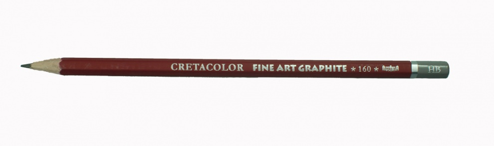 Графитен молив CretaColor, CLEOS FineArtGraphite, 1 бр., от 9B до 9H Графитен молив CretaColor, CLEOS FineArtGraphite, 1 бр., HB