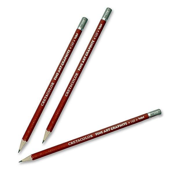 Графитен молив CretaColor, CLEOS FineArtGraphite, 1 бр., от 9B до 9H