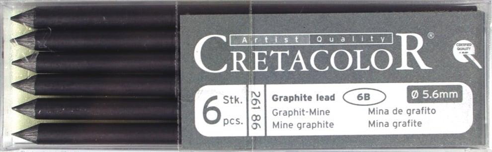 Графитна сърцевина CretaColor, Special Graphite Графитна сърцевина CretaColor, Special Graphite, 6B