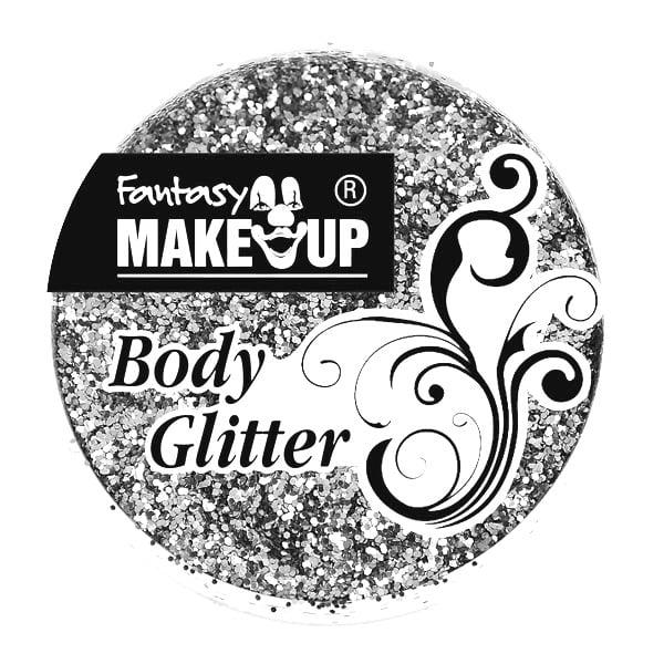Грим за тяло гел Korperflitter Glitter, 10 g Грим за тяло гел Korperflitter Glitter, 10 g, сребърен
