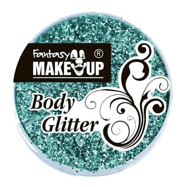 Грим за тяло гел Korperflitter Glitter, 10 g Грим за тяло гел Korperflitter Glitter, 10 g, зелен