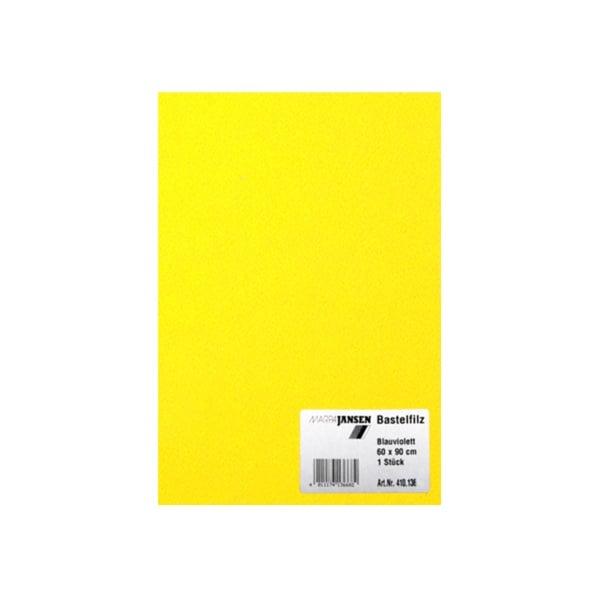 Филц занаятчийски 0,8-1 mm, 100% вискоза Филц за занаятчийски 0,8-1 mm, 100% вискоза, лимонено