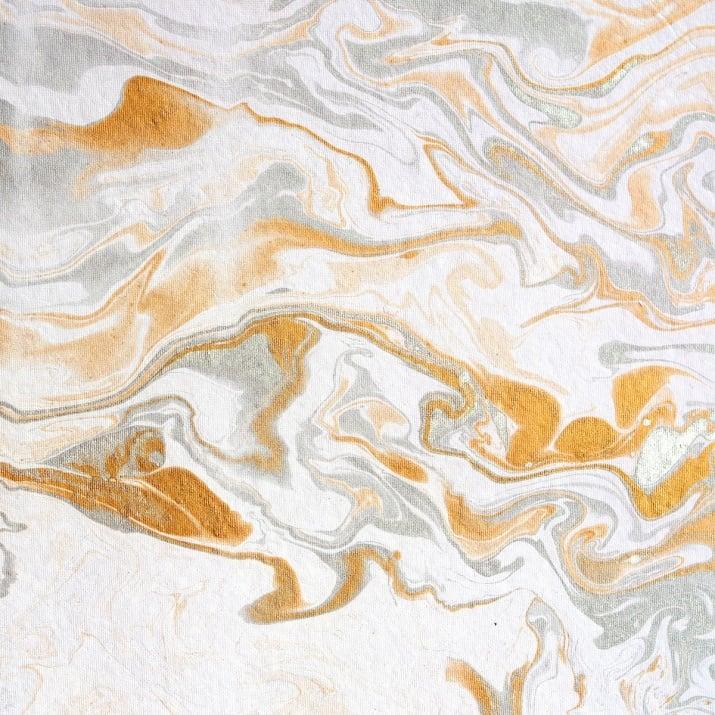 Картон мраморен, 240 g/m2, 50 x 70 cm, 5л в пакет, бял