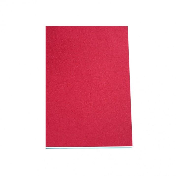Хартия за скици, 190 g/m2 Хартия за скици, 120 g/m2, А4, 50л в червен блок, бяла