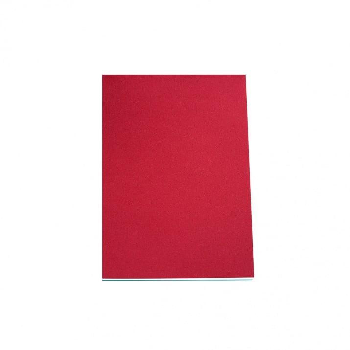 Хартия за скици, 190 g/m2 Хартия за скици, 120 g/m2, А5, 50л в червен блок, бяла