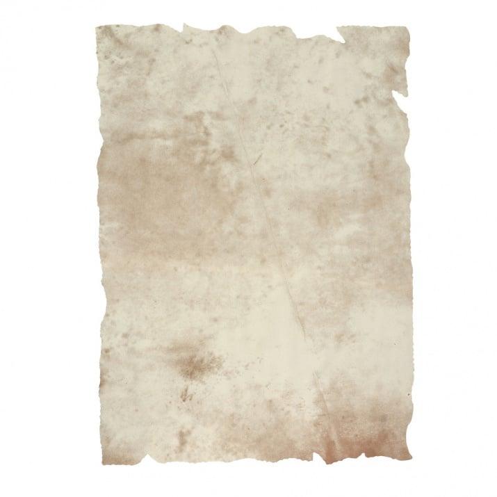 Хартия за антични документи, 200 g/m2, А4, 1л, състарена окъсана