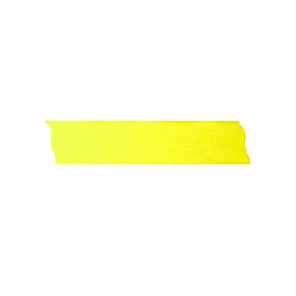 Лента декоративна UNIBAND, 25 mm, 10m Лента декоративна UNIBAND, 25 mm, 10m, лимонено жълта