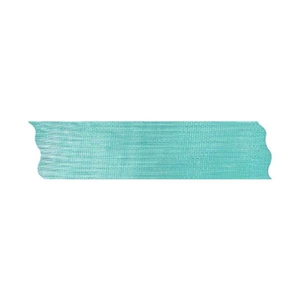 Лента шифон рязана, 25 mm, 10m Лента шифон рязана, 25 mm, 10m, турско синя