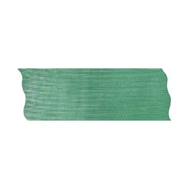 Лента шифон рязана, 40 mm, 10m Лента шифон рязана, 40 mm, 10m, тъмно зелена
