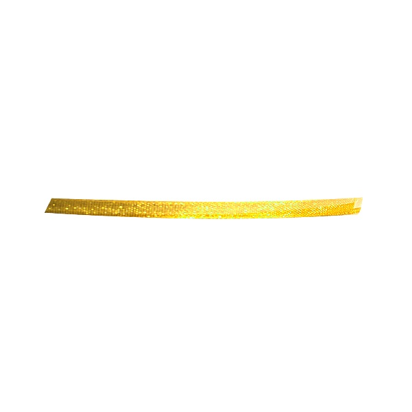 Лента шифон, 3 mm, 10m Лента шифон, 3 mm, 10m, лимонено жълта