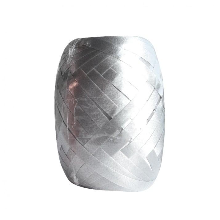 Лента полипропиленова POLYBAND, 5 mm, 250m Лента полипропиленова POLYB,5mm, 20m, сиво сребриста