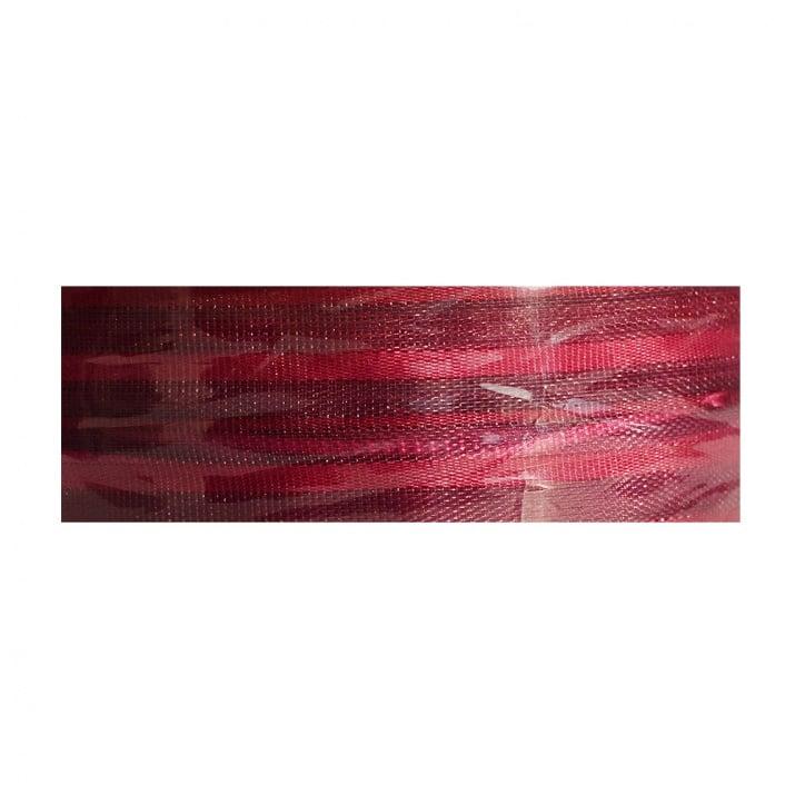 Лента с нишка за набиране, 25 mm, 3m Лента с нишка за набиране, 25 mm, 3m, винено червена