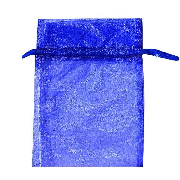 Торбичка подаръчна шифон, 15 X 24 cm Торбичка подаръчна шифон, 12 x 17 cm, турско синя