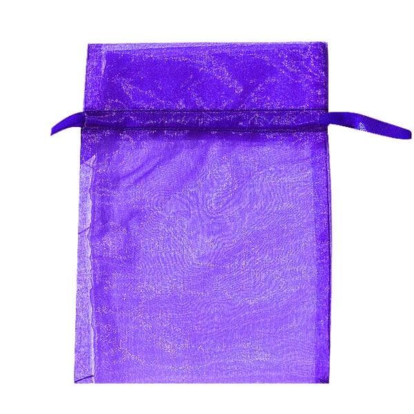 Торбичка подаръчна шифон, 15 X 24 cm Торбичка подаръчна шифон, 12 x 17 cm, пурпурна