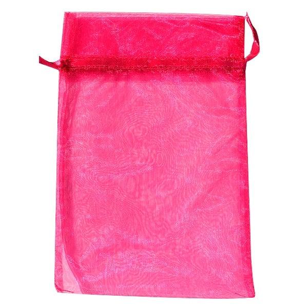 Торбичка подаръчна шифон, 15 X 24 cm Торбичка подаръчна шифон, 15 X 24 cm, розова