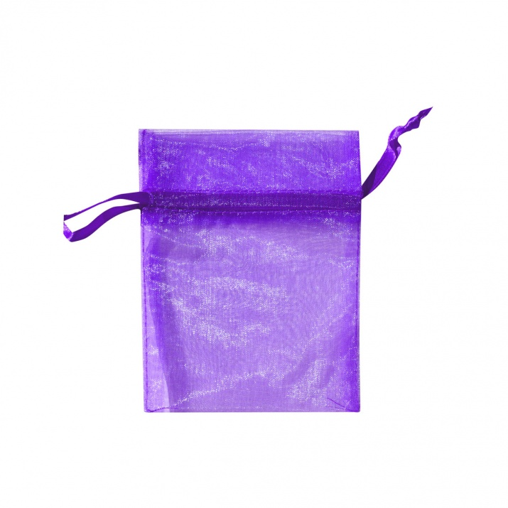 Торбичка подаръчна шифон, 15 X 24 cm Торбичка подаръчна шифон, 9 x 12 cm, пурпурна