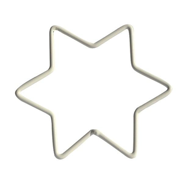 Телена форма за украсяване, 10 cm, звезда