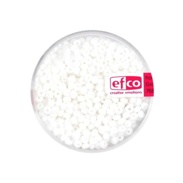 Индиански перли, непрозрачни, ф 2,6 mm, ~1100 бр. Индиански перли, непрозрачни, ф 2,6 mm, ~1100 бр., бели