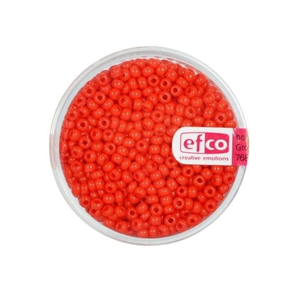 Индиански перли, непрозрачни, ф 2,6 mm, ~1100 бр. Индиански перли, непрозрачни, ф 2,6 mm, ~1100 бр., червени