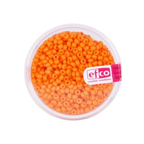 Индиански перли, непрозрачни, ф 2,6 mm, ~1100 бр. Индиански перли, непрозрачни, ф 2,6 mm, ~1100 бр., коралови