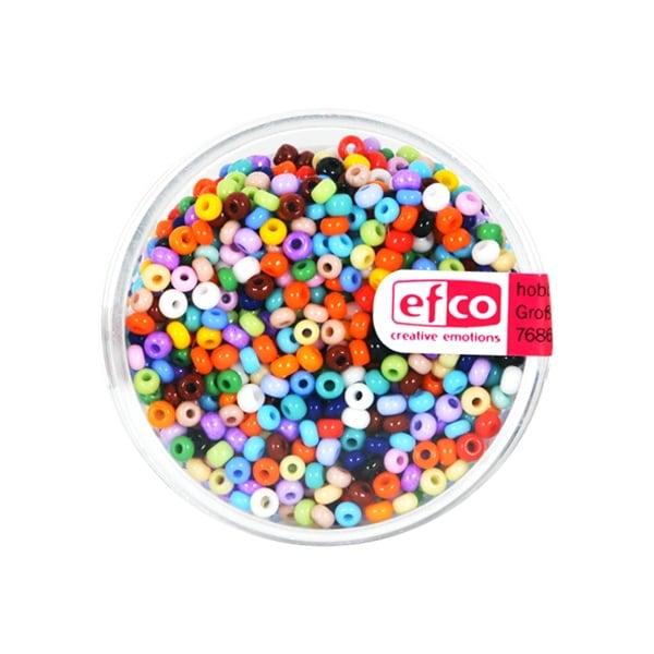 Индиански перли, непрозрачни, ф 2,6 mm, ~1100 бр.