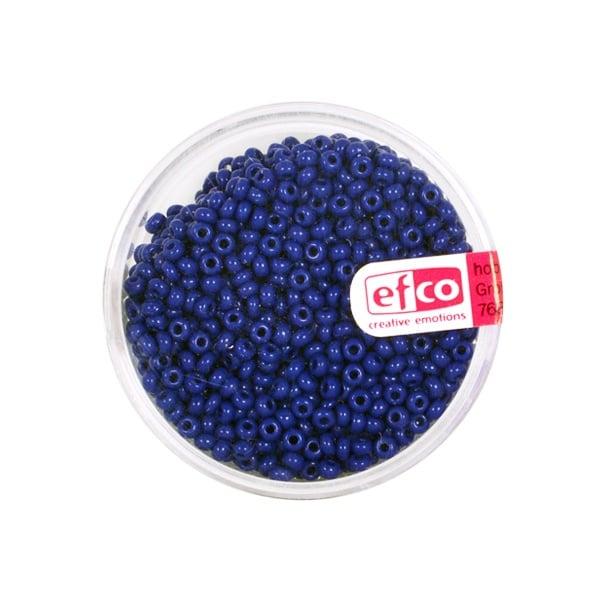 Индиански перли, непрозрачни, ф 2,6 mm, ~1100 бр. Индиански перли, непрозрачни, ф 2,6 mm, ~1100 бр., сини